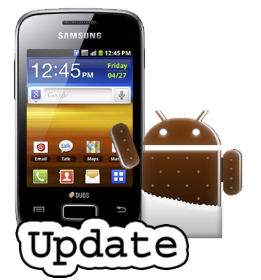 How To Update Samsung Galaxy Y GT-S5360 to Android ICS 4.0.3