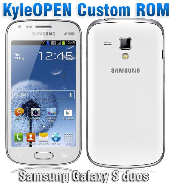 Install KyleOpen Rom On Samsung Galaxy S Duos