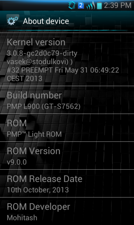 Screenshot GT S7562 PMP Light ROM 3 How To Install PMP Light ROM On Samsung Galaxy S Duos GT S7562 Smartphone