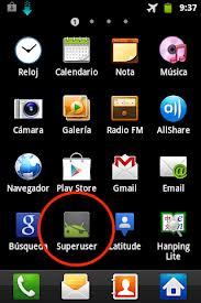 Superuser app on android