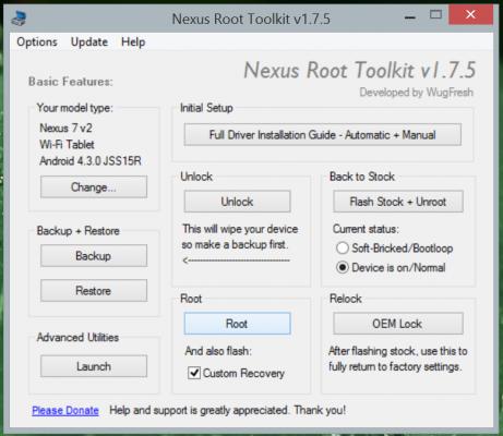Root Nexus 7-10