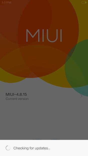 Mi3 Running MIUI 6 Beta ROM