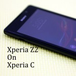 How To Install Dark Xperia Z2 ROM On Xperia C