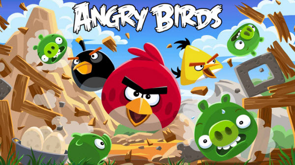Angry Birds - Best Free Android Games Of All Time