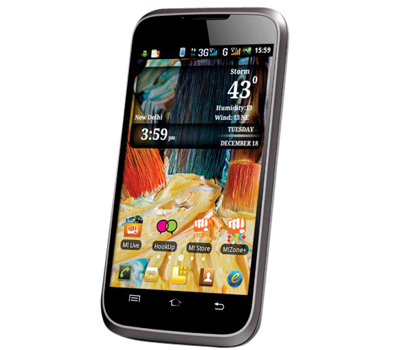 Root Micromax A54