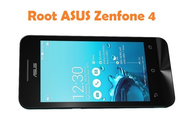 Root ASUS Zenfone 4