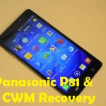 How To Root Panasonic P81 And Install CWM Recovery