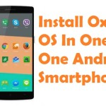 How To Install Oxygen OS In OnePlus One Smartphone