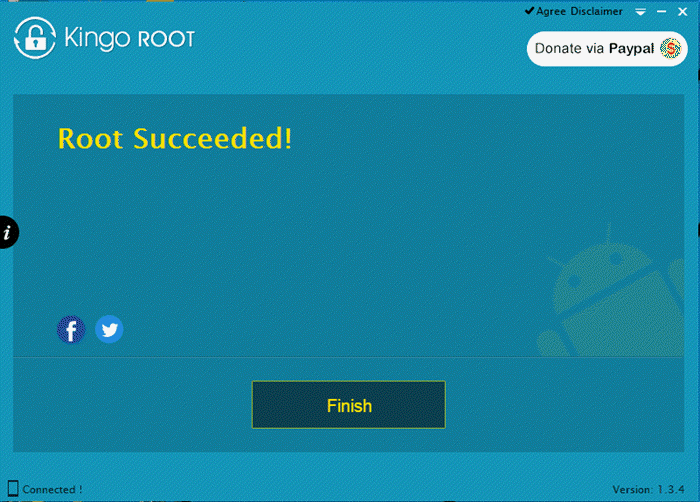King Root Lenovo Tab 2 Root Succeeded Message