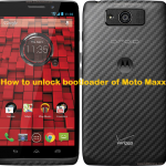 How to unlock bootloader of Motorola Moto Maxx