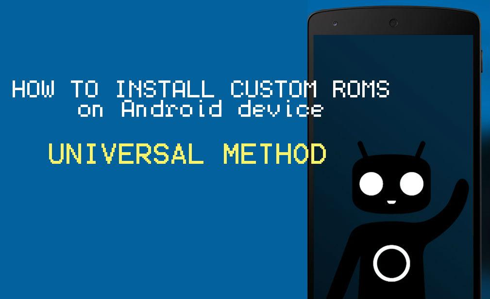 install custom ROMs